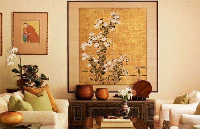 Tranh nghệ thuật trang trí phòng khách